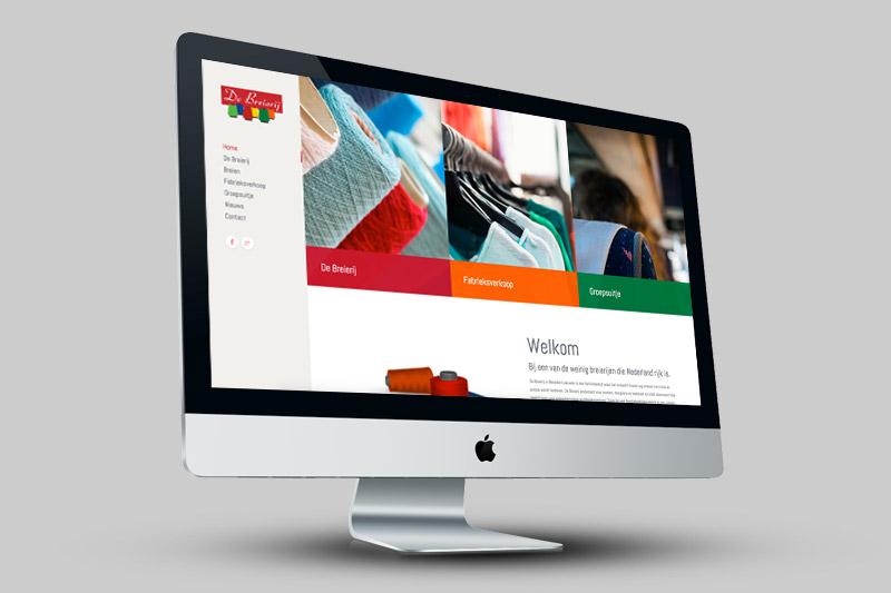 Nieuwe website De Breierij