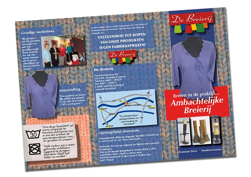 De Breierij - Brochure